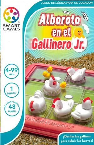 ALBOROTO EN EL GALLINERO JR. SMART GAMES
