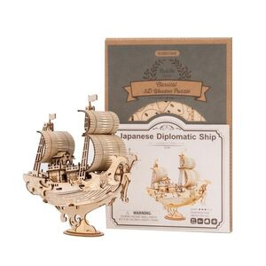 ROLIFE PUZZLE 3D. BARCO DIPLOMATICO JAPONES