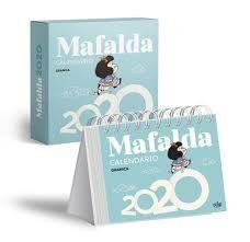 MAFALDA 2020 CALENDARIO CAJA AZUL