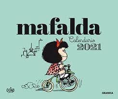 2021 MAFALDA CALENDARIO ESCRITORIO-VERDE (SIN CAJA)