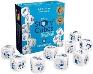 STORY CUBES ACCIONES. ASMODEE