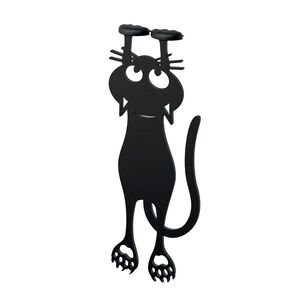 MARCAPÁGINAS CURIOUS CAT NEGRO - GATO (BALVI)