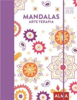 2020 AGENDA MANDALAS PARA COLOREAR