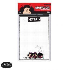 ORGANIZADOR SEMANAL IMANTADO NOTAS MAFALDA