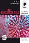 * (ED. ANTIGUA ) NEW ENGLISH FILE INTERMEDIATE PLUS STUDENT´S BOOK + WORKBOOK + CDROM. WITH KEY