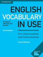 ENGLISH VOCABULARY IN USE PRE-INTERMEDIATE AND INTERMEDIATE BOOK WITH ANSWERS 4ª ED.