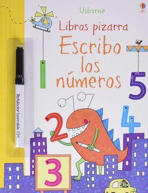 ESCRIBO LOS NÚMEROS (LIBRO PIZARRA)