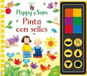 POPPY Y SAM PINTA CON SELLOS