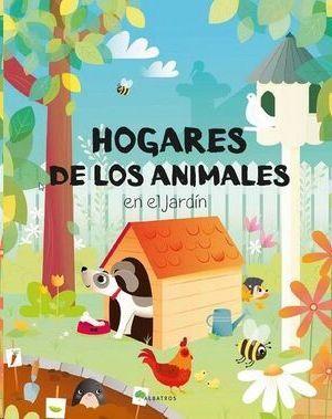 HOGARES DE LOS ANIMALES EN EL JARDIN