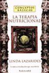 CONCEPTOS BASICOS LA TERAPIA NUTRICIONAL