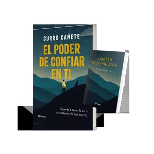 PACK EL PODER DE CONFIAR EN TI + LIBRETA INSPIRADORA