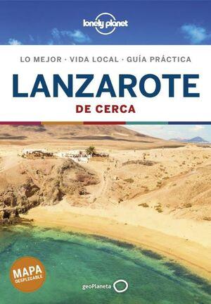 LANZAROTE DE CERCA. LONELY PLANET 2021