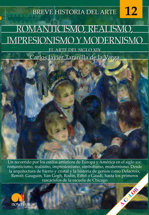 BREVE HISTORIA DEL ARTE: ROMANTICISMO REALISMO, IMPRESIONISMO Y MODERNISMO