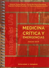 MEDICINA CRITICA Y EMERGENCIAS ED. 2019