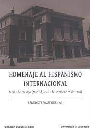 HOMENAJE AL HISPANISMO INTERNACIONAL