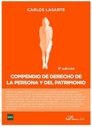 COMPENDIO DE DERECHO DE LA PERSONA Y EL PATRIMONIO