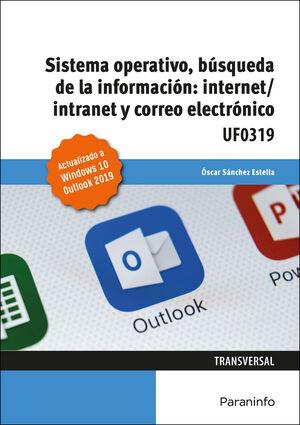 UF0319 SISTEMA OPERATIVO, BUSQUEDA DE LA INFORMACION: INTERNET / INTRANET Y CORREO ELECTRONICO