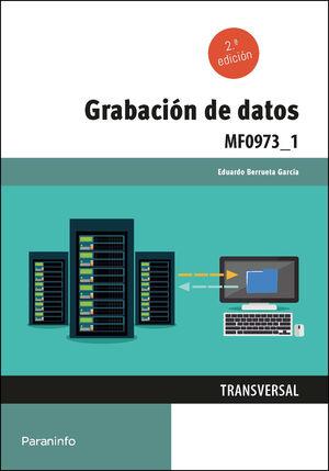 MF0973_1 GRABACION DE DATOS. 2ª ED.