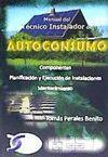 MANUAL DEL TECNICO INSTALADOR DE AUTOCONSUMO