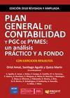 PLAN GENERAL DE CONTABILIDAD Y PGC DE PYMES. ED. 2018