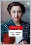 TRECE CUENTOS (1931/1963)