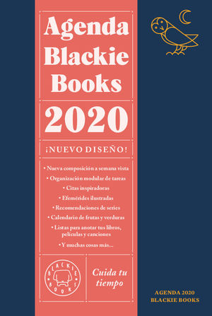 AGENDA BLACKIE BOOKS 2020. CUIDA TU TIEMPO