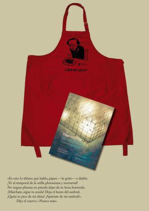 PACK EDGAR ALLAN POE: DELANTAL LITERARIO DE MAX + LIBRO EL SILENCIO