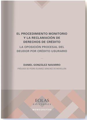 EL PROCEDIMIENTO MONITORIO Y LA RECLAMACION DE DERECHOS DE CREDIT
