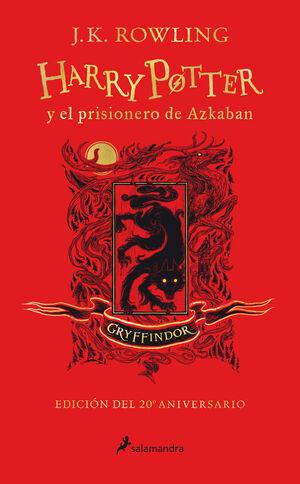 HARRY POTTER Y EL PRISIONERO DE AZKABÁN (EDICIÓN GRYFFINDOR DEL 20º ANIVERSARIO)