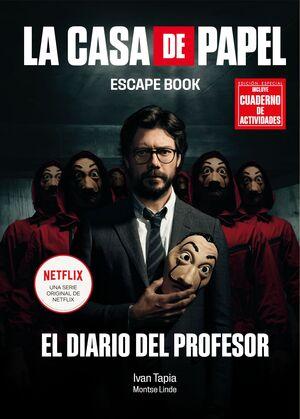KIT LA CASA DE PAPEL. ESCAPE BOOK