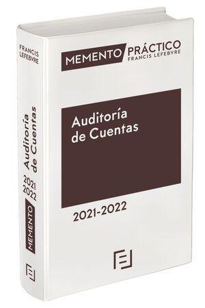 MEMENTO PRACTICO AUDITORÍA DE CUENTAS 2021-2022
