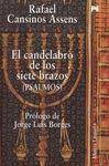 EL CANDELABRO DE LOS SIETE BRAZOS ( PSALMOS ) PROLOGO DE BORGES