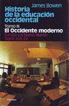 HISTORIA DE LA EDUCACION OCCIDENTE.TOMO III: OCCIDENTE MODERNO