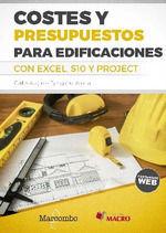 COSTES Y PRESUPUESTOS PARA EDIFICACIONES CON EXCEL 2010 - S10 - P