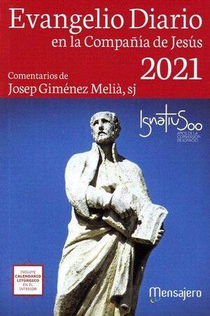 EVANGELIO DIARIO 2021 EN LA COMPAÑÍA DE JESÚS