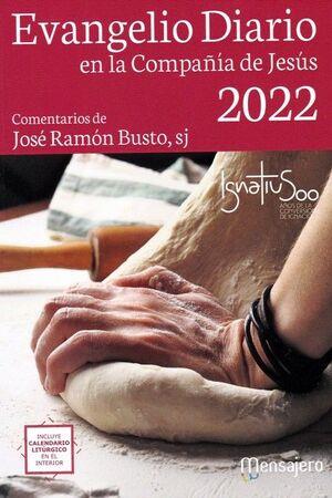 EVANGELIO DIARIO 2022 (PEQUEÑO) EN LA COMPAÑIA DE JESUS