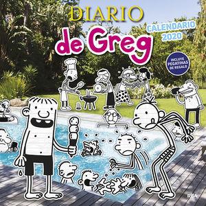 CALENDARIO 2020 DIARIO DE GREG