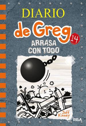 ARRASA CON TODO (DIARIO DE GREG 14)