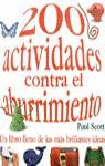 200 ACTIVIDADES CONTRA EL ABURRIMIENTO