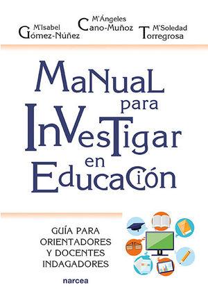 MANUAL PARA INVESTIGAR EN EDUCACION