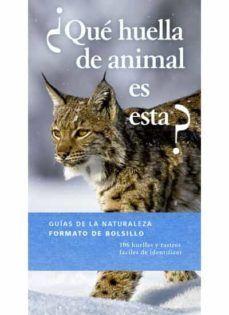 ¿QUÉ HUELLA DE ANIMAL ES ESTA?