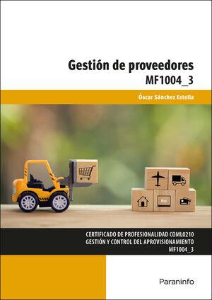 MF1004_3 GESTION DE PROVEEDORES