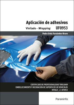 UF0953 APLICACION DE ADHESIVOS