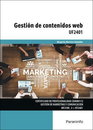 UF2401 GESTION DE CONTENIDOS WEB