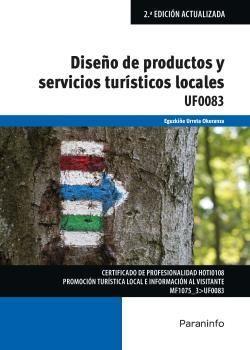 UF0083 DISEÑO DE PRODUCTOS Y SERVICIOS TURISTICOS LOCALES