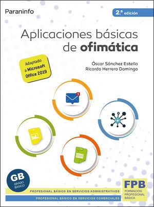 APLICACIONES BASICAS DE OFIMATICA 2.ª EDICION 2021