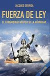 FUERZA DE LEY. 3ª ED.
