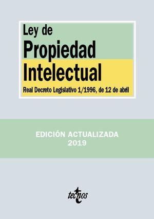 LEY DE PROPIEDAD INTELECTUAL 2019