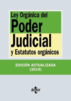 LEY ORGÁNICA DEL PODER JUDICIAL ED. 2019