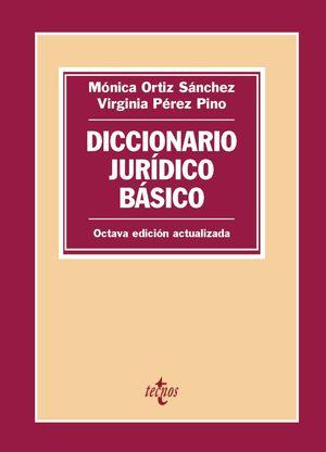 DICCIONARIO JURÍDICO BÁSICO 8ª ED. 2019 ACTUALIZADA